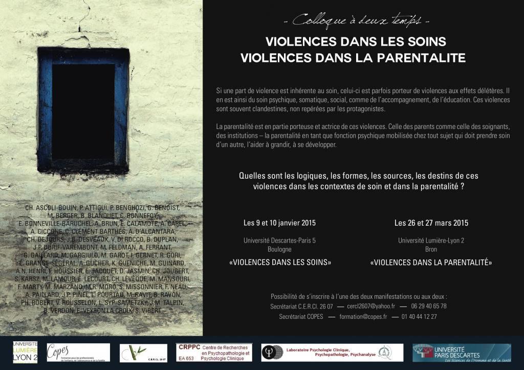 colloque violence